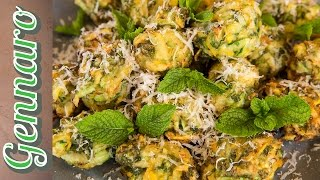 Courgette And Mint Fritters Recipe