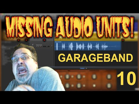 How To Fix Audio Units Missing from GarageBand 10