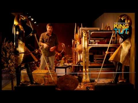 Discovery of King Tut BurialChamber - Exhibit at Union Station Kansas