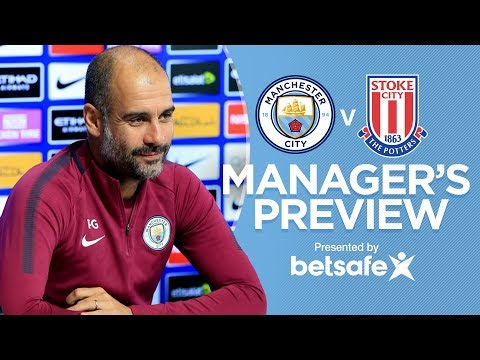 AGUERO COULD BE BACK!  | Manchester City vs Stoke City | Press Conference