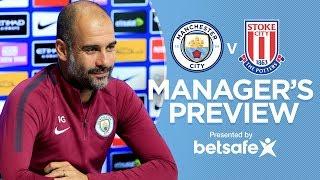 AGUERO COULD BE BACK!  | Manchester City vs Stoke City | Press Conference