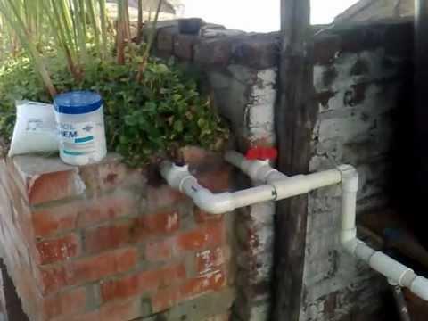 Humedal casero ptar biofiltro reciclaje de aguas grises - Fotos de lavadoras ...