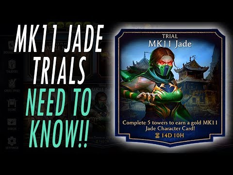*NEW* MK11 JADE TRIALS - NEED TO KNOW!! TOWERS UPDATE 2.0 MORTAL KOMBAT MOBILE MK thumbnail