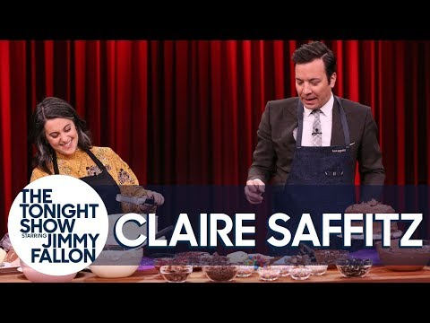Bon Apptit'sClaire Saffitz Challenges Jimmy to a Layer Cake-Decorating Contest