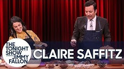 Bon Appétit's Claire Saffitz Challenges Jimmy to a Layer Cake-Decorating Contest
