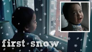THE FIRST SNOW!
