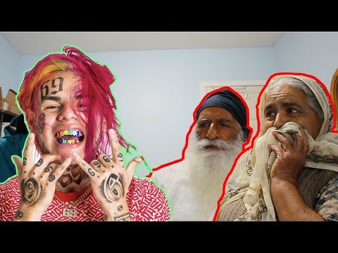 GRANDPARENTS REACT TO TEKASHI 6IX9INE TATI (GONE WRONG)