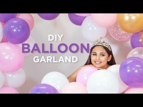 DIY: BALLOON GARLAND TUTORIAL
