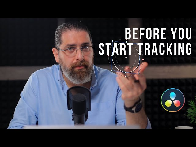 5 Tracking tricks you should know before tracking objects in resolve