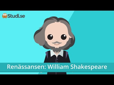 Renässansen: William Shakespeare (Svenska) - Studi.se