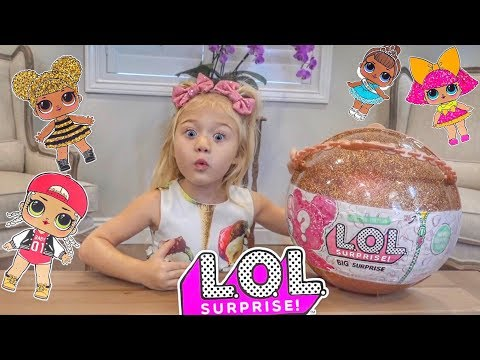 EVERLEIGH OPENS LOL DOLL BIG SURPRISE!!!!