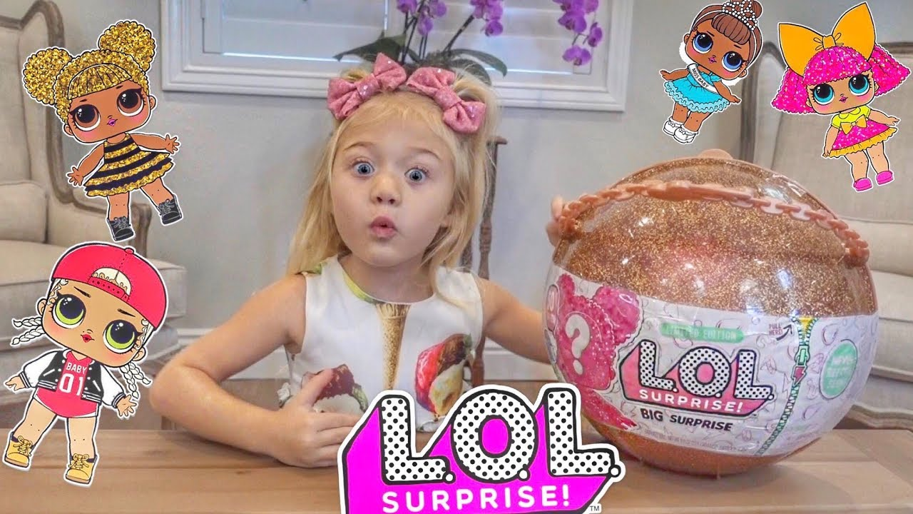 Everleigh Opens Lol Doll Big Surprise Youtube