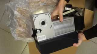 Розпакування Shaft 30 Привід для гаражних воріт з торсіонним механізмом