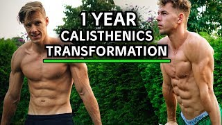 Insane 1 Year Calisthenics Transformation | Epic Progression