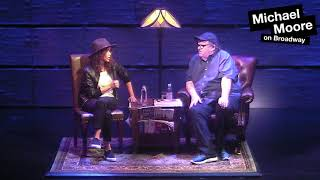 Rosie Perez (Michael Moore on Broadway Interview)