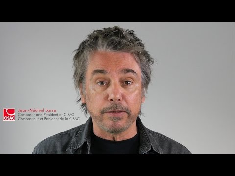 CISAC President Jean-Michel Jarre Addresses WIPO Global Digital Content Conference