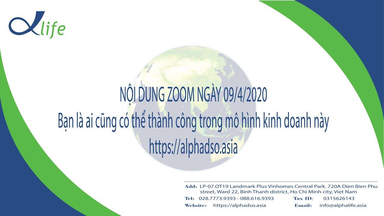 Cho dù bạn là ai cũng thành công trong dự án TMĐT www.alphadso.asia|AlphaLife|