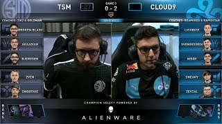 TSM vs C9 Game 3 - 2019 LCS Spring Split SemiFinals - Team SoloMid vs Cloud 9