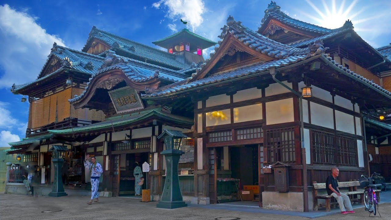 Dogo Onsen | Ancient Bath House Secrets Revealed ☆ ONLY in JAPAN ...