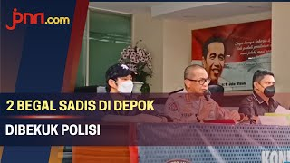2 Begal Sadis di Depok Akhirnya Dibekuk Polisi