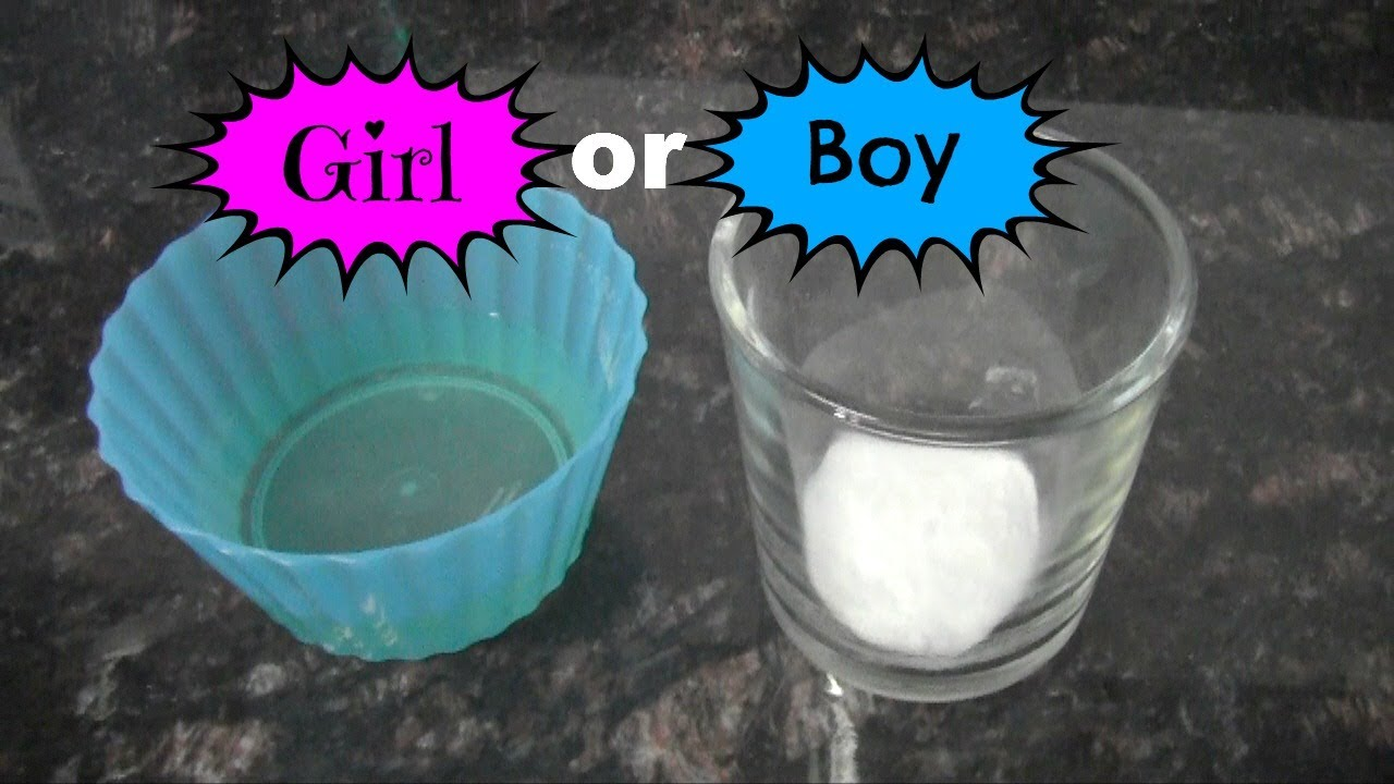 Baking Soda Gender Test Youtube