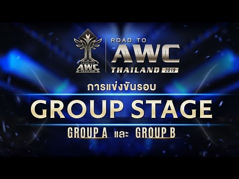 Road to AWC Thailand 2019 | Group Stage - Day1