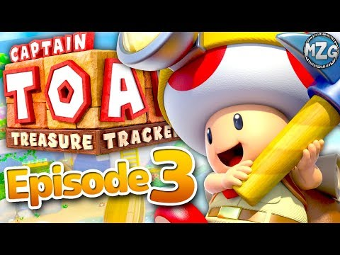 Captain Toad Treasure Tracker Gameplay Walkthrough - Episode 3 - Hunt for the Great Bird's Lair! |
