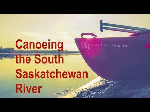 South Saskatchewan River Canoe Trip,  Destination...Saskatoon