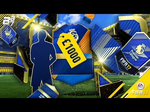 £1000 TEAM OF THE SEASON PACK OPENING! | FIFA 17 ULTIMATE TEAM