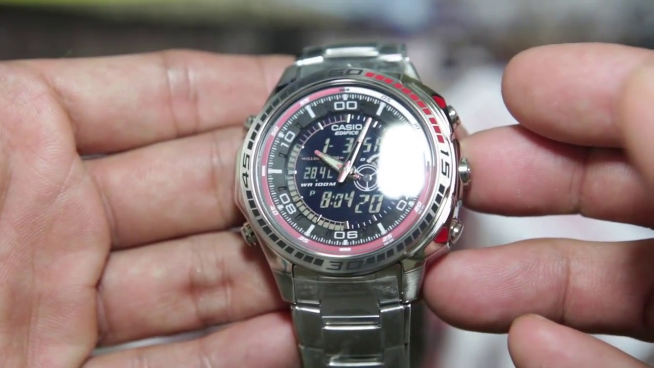 Casio Edifice Efa121d1av Youtube