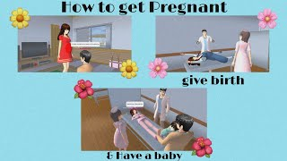 How to get pregnant, give birth & Have a baby in Sakura school simulator   YanOfficial screenshot 3