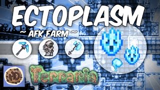 Terraria AFK Dungeon Hardmode Ectoplasm Farm (1.3 new hardmode items)