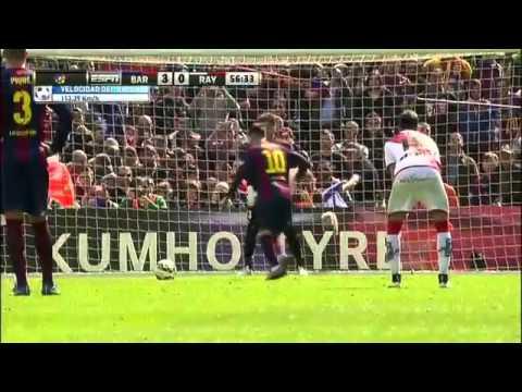Barcelona 6-1 Rayo Vallecano (Primera División) Highlight
