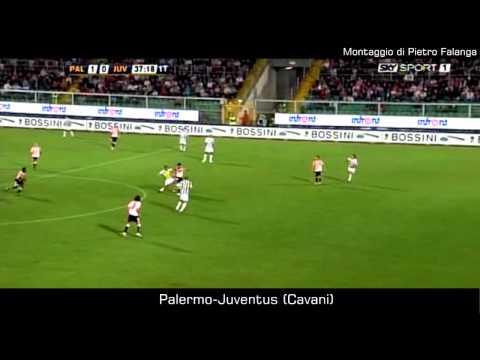 [Goal memorabili] Edinson Cavani in Palermo-Juve del 2009