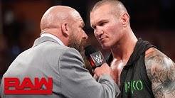 Triple H and Randy Orton meet before WWE Super ShowDown: Raw, June 3, 2019