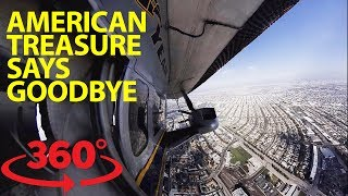 Hitch a ride on the Goodyear blimp in 360 thumbnail