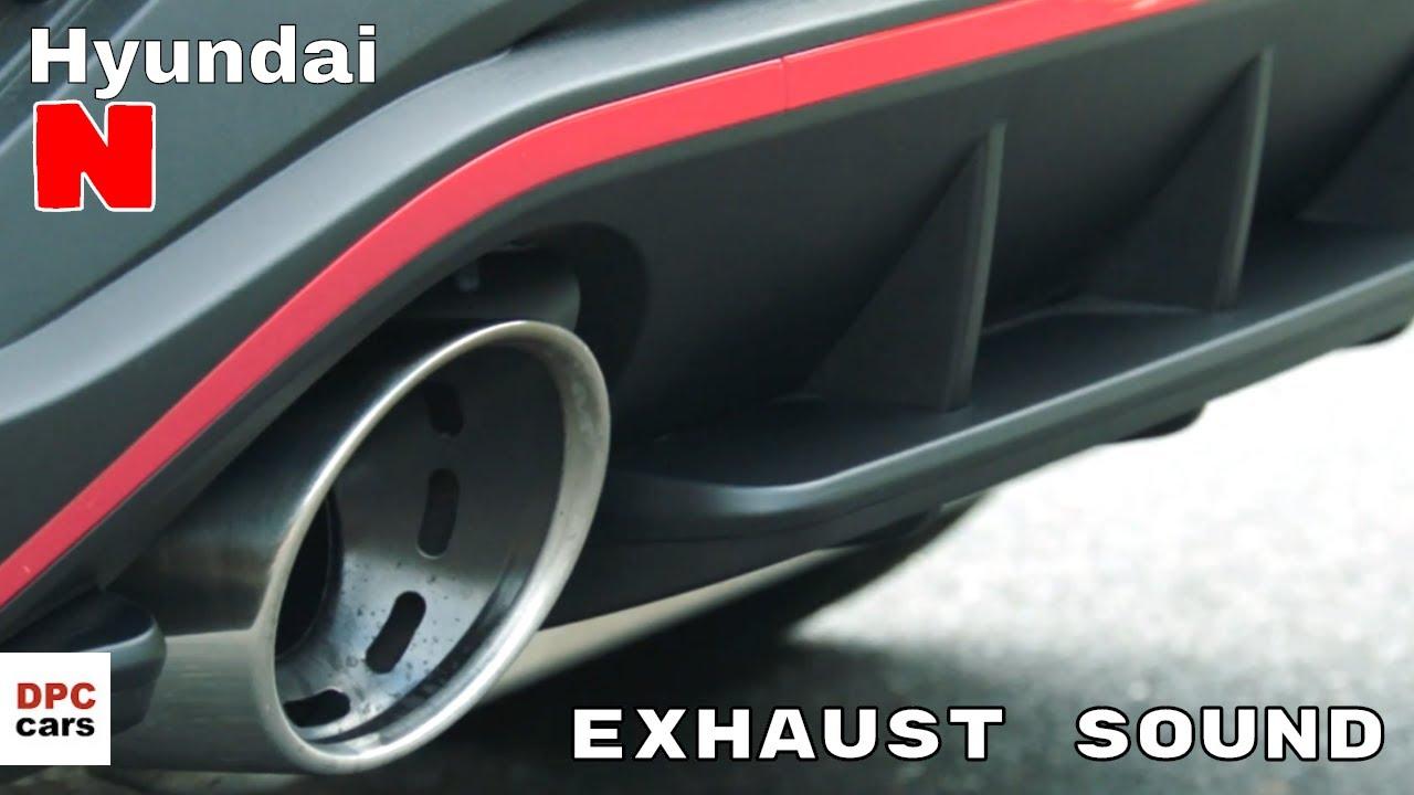 new 2021 hyundai i30 n exhaust and engine turbo sound