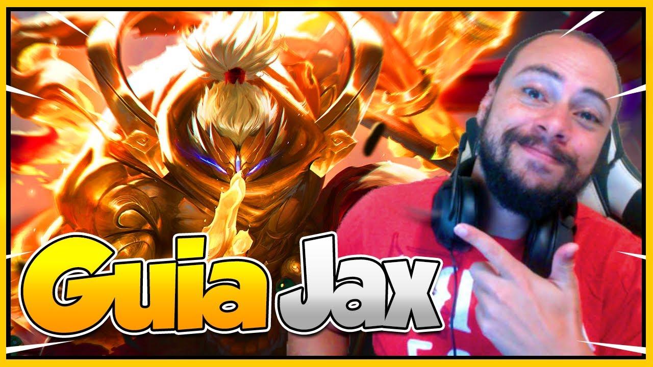 GUIA JAX [2020] DICAS DE COMO JOGAR DE JAX | COMBO + BUILDS + RUNAS + PRÓS E CONTRAS + COUNTERS