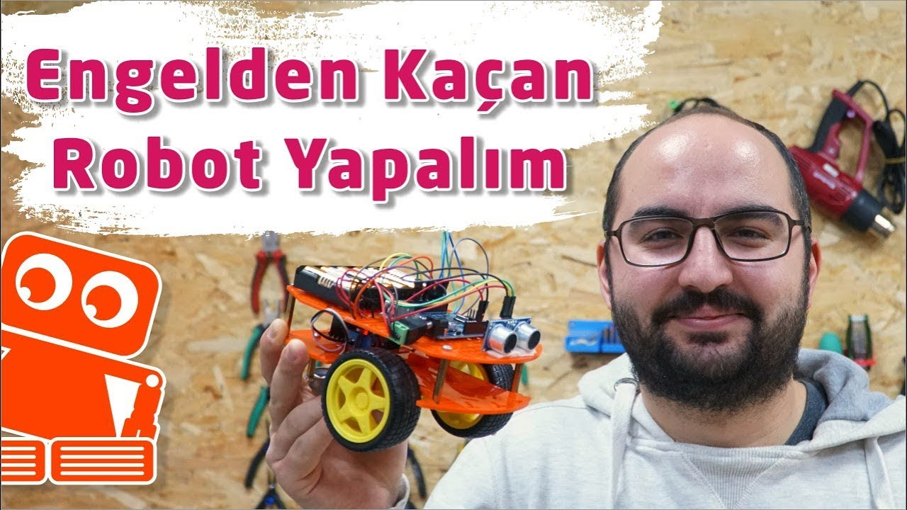 Engelden Kaçan Robot Nasıl Yapılır? (Arduino ile Detaylı Yapımı)