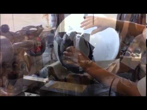 Columbia University Custom Glass Globe Modification