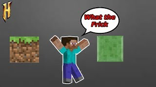 Minecraft Parkour but if I miss a jump then the video gets f…