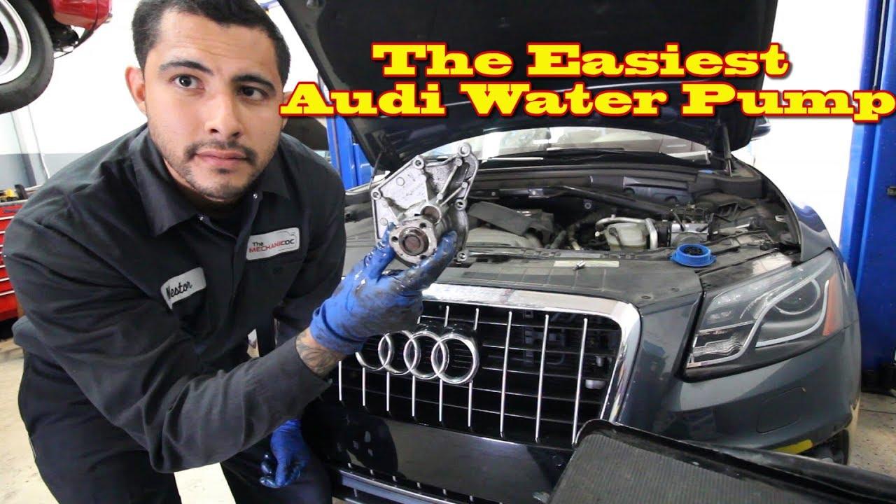 Easiest Audi Water Pump Youtube 2004 S4 Engine Diagram