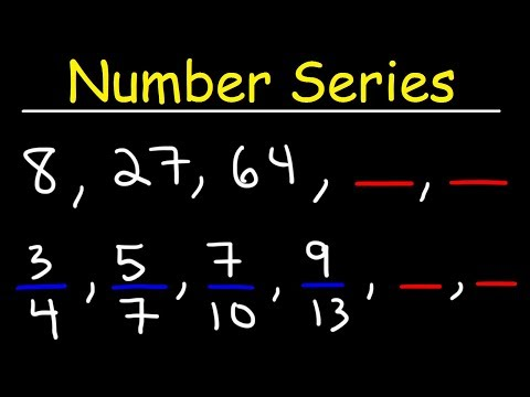 Number Series Reasoning Tricks, Patterns and Sequences, Find The Next Term, Arithmetic & Geometric