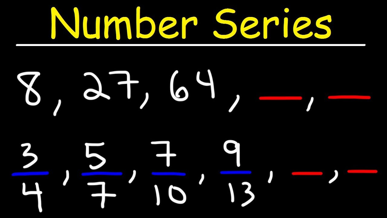 Number Series Reasoning Tricks - The Easy Way! - YouTube [ 720 x 1280 Pixel ]