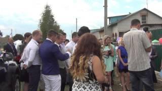 Проверка жениха врачём. Павловичи. Hochzeit. Belarus.