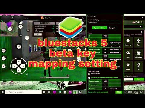 Best Key Mapping For Bluestacks 5 Beta Version.