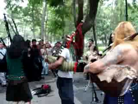 Musicians at Alameda Park