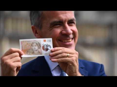 New plastic £10 note featuring Jane Austen unveiled