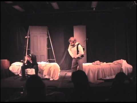 "Scene from ""The Dumb Waiter"" by Harold Pinter"