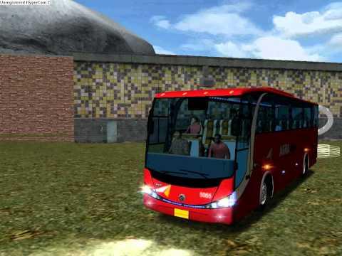 18 wheels of steel Haulin.Bus Mod V3 Platinum Indonesia